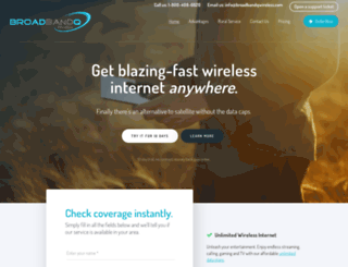 broadbandqwireless.com screenshot