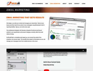 broadcast.sur.co.uk screenshot