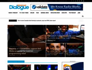 broadcastdialogue.com screenshot