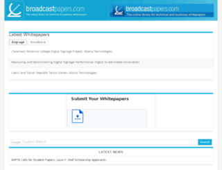 broadcastpapers.info screenshot