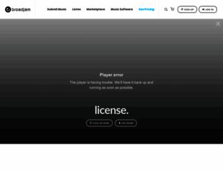 broadjam.com screenshot