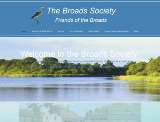 broads-society.org.uk screenshot