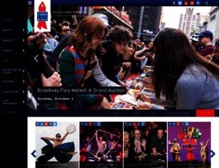 broadwaycares.org screenshot