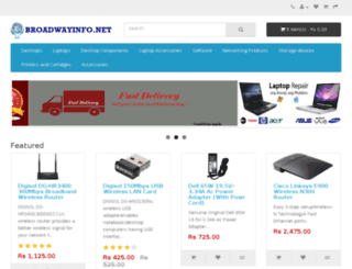 broadwayinfo.net screenshot