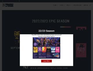 broadwayintucson.com screenshot