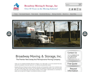 broadwaymovers.com screenshot