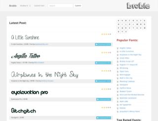 broble.com screenshot