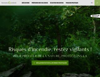 broceliande-vacances.com screenshot