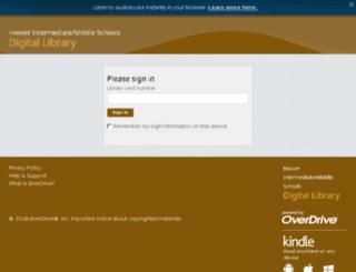 brocksgapial.libraryreserve.com screenshot