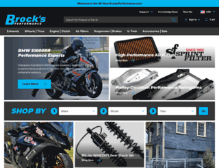 brocksperformance.com screenshot