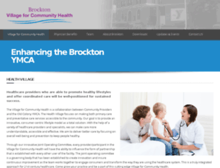brocktonhealth.com screenshot