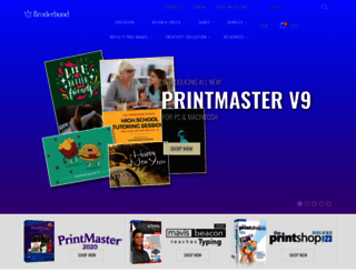 broderbund.com screenshot