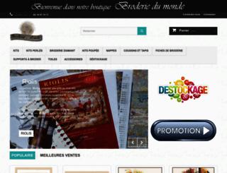 broderiedumonde.fr screenshot