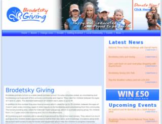 brodetsky-giving.org.uk screenshot