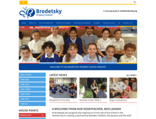 brodetsky.leeds.sch.uk screenshot