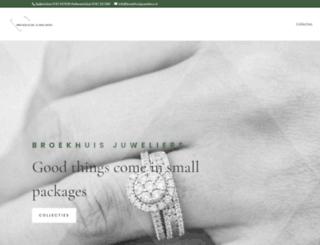 broekhuisjuweliers.nl screenshot