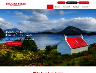 brogans.co.uk screenshot
