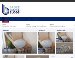 brokeblokeblogs.com screenshot