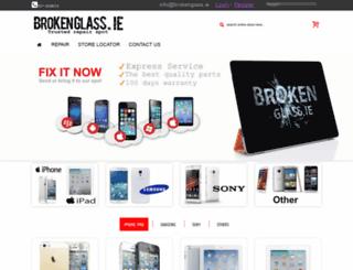 brokenglass.ie screenshot