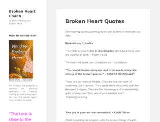 brokenheartquotes.itakeoffthemask.com screenshot