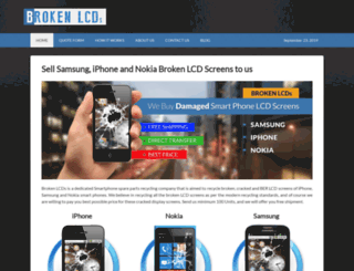 brokenlcds.com screenshot