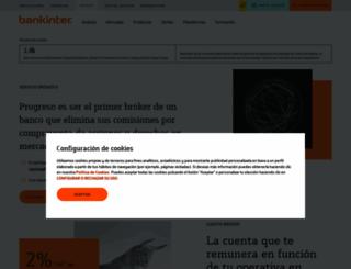 broker.bankinter.com screenshot