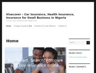 brokerage.visacover.com screenshot