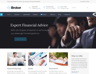 brokerdemo.commercegurus.com screenshot