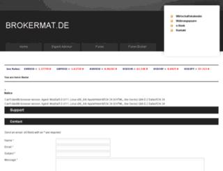 brokermat.de screenshot
