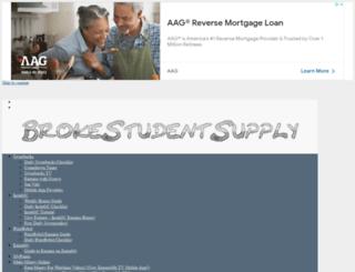 brokestudentsupply.com screenshot