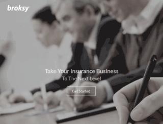 broksy.com screenshot