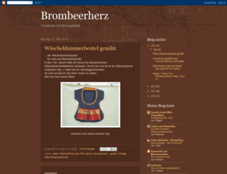 brombeerherz.blogspot.com screenshot