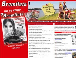 bromfiets.com screenshot