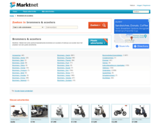 brommers.marktnet.nl screenshot