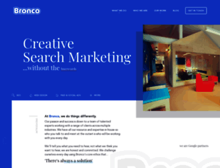 bronco.co.uk screenshot