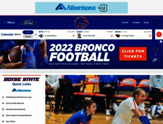 broncosports.cstv.com screenshot