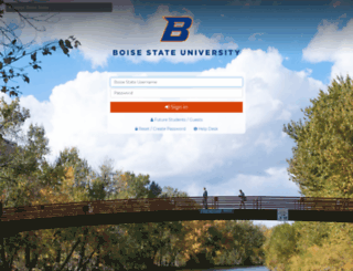 broncoweb.boisestate.edu screenshot