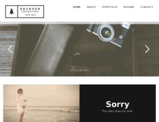bronson-creatives.com screenshot