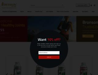 bronsonvitamins.com screenshot