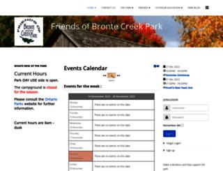 brontecreek.org screenshot