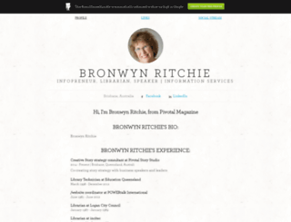 bronwynritchie.brandyourself.com screenshot