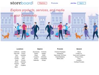 bronx.storeboard.com screenshot