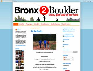 bronxtoboulder.blogspot.com screenshot