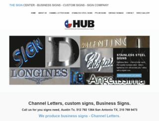bronzesigns.net screenshot