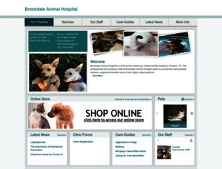 brookdaleanimalhospital.vetstreet.com screenshot