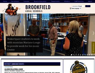 brookfield.k12.oh.us screenshot