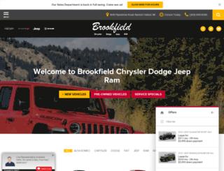 brookfieldchrysler.net screenshot