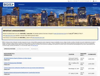 brookfieldjohnsoncontrols.merx.com screenshot