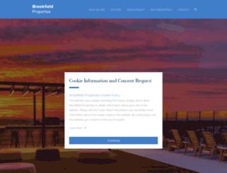 brookfieldofficeproperties.com screenshot