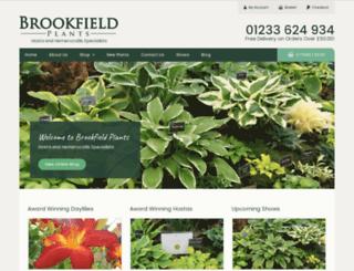 brookfieldplants.com screenshot